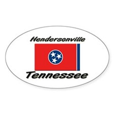 Hendersonville Tennessee Oval Decal