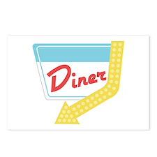 Diner Halt Postcards (Package of 8)