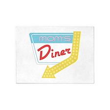 Mom's Diner 5'x7'Area Rug