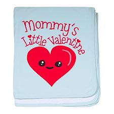 Mommy's Little Valentine baby blanket