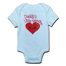 Daddy's Little Valentine Body Suit