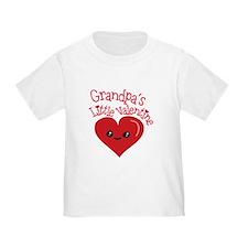 Grandpa's Little Valentine T-Shirt