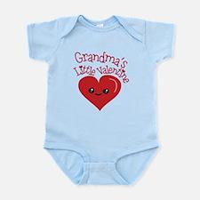 Grandma's Little Valentine Body Suit