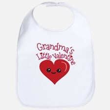 Grandma's Little Valentine Bib