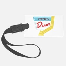 Open Diner Luggage Tag