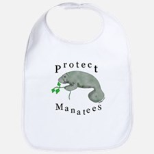 Protect Manatees Bib