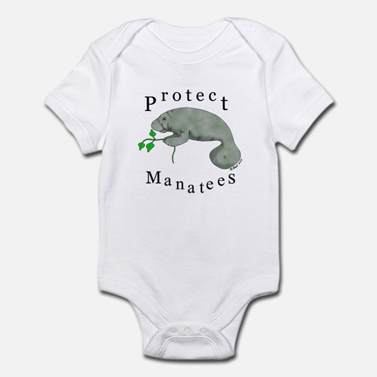 Protect Manatees Infant Bodysuit