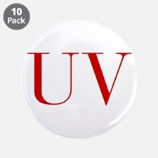 """UV-bod red2 3.5"""" Button (10 pack)"""