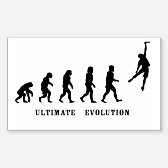 Ultimate Evolution Rectangle Bumper Stickers