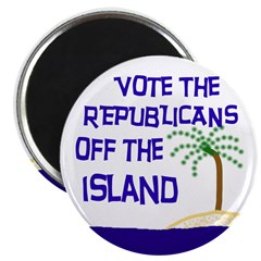 Vote Republicans Out Magnet (100 pack)