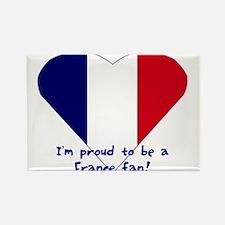France fan Rectangle Magnet