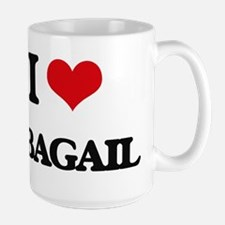 I Love Abagail Mugs