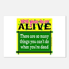 Good To Be Alive Postcards (Package of 8)