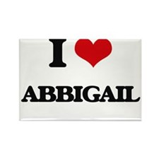 I Love Abbigail Magnets