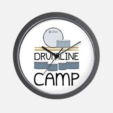 Drumline Camp Wall Clock