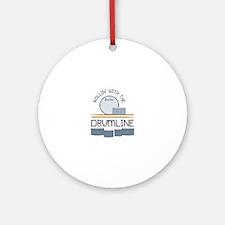Rollin' With Drumline Ornament (Round)