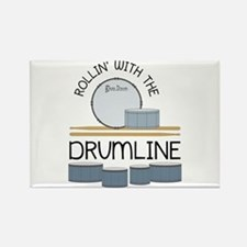 Rollin' With Drumline Magnets