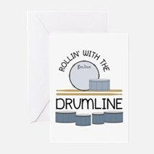 Rollin' With Drumline Greeting Cards