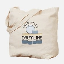 Rollin' With Drumline Tote Bag