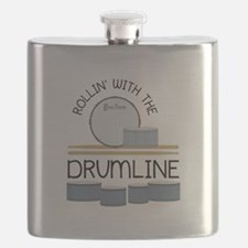 Rollin' With Drumline Flask