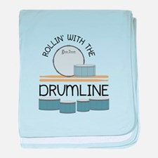 Rollin' With Drumline baby blanket