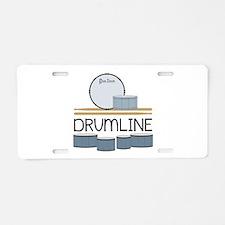 Drumline Aluminum License Plate