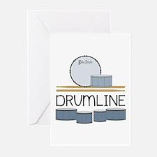 Drumline Greeting Cards