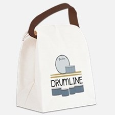 Drumline Canvas Lunch Bag