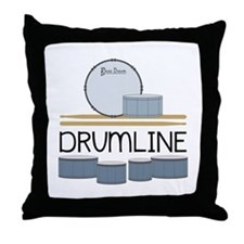 Drumline Throw Pillow