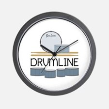 Drumline Wall Clock