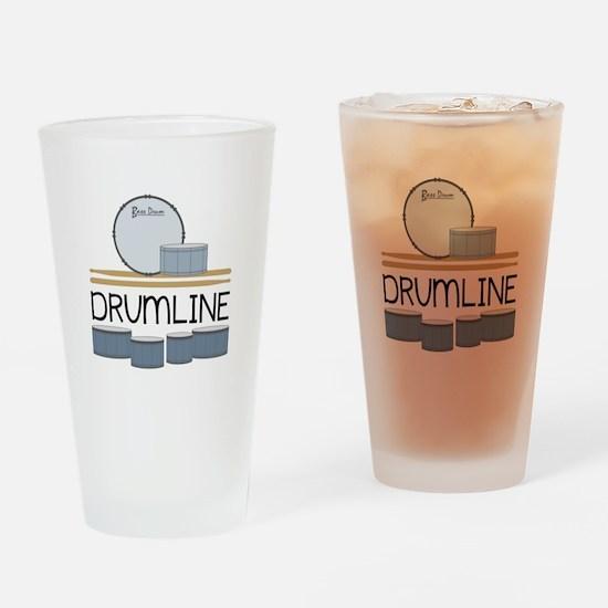 Drumline Drinking Glass