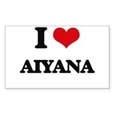 I Love Aiyana Decal