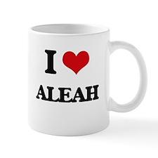 I Love Aleah Mugs