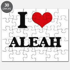 I Love Aleah Puzzle
