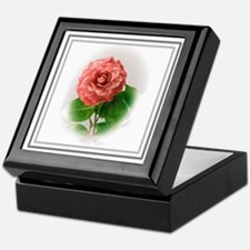 Valentine Camellia Keepsake Box