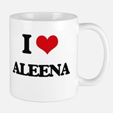 I Love Aleena Mugs