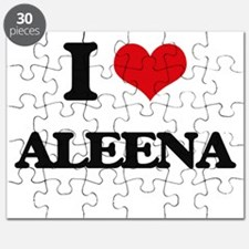 I Love Aleena Puzzle