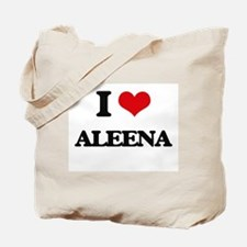 I Love Aleena Tote Bag