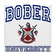 BOBER University Tile Coaster