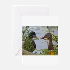ducks Greeting Cards