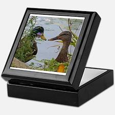 ducks Keepsake Box