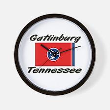 Gatlinburg Tennessee Wall Clock