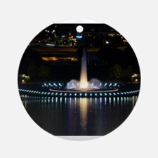 fountain in pittsburgh Ornament (Round)