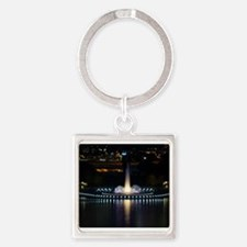 fountain in pittsburgh Keychains