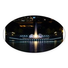 fountain in pittsburgh Decal