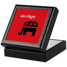i Am Right Keepsake Box