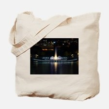 fountain in pittsburgh Tote Bag