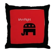 i Am Right Throw Pillow