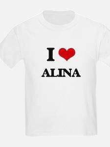 I Love Alina T-Shirt