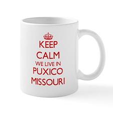 Keep calm we live in Puxico Missouri Mugs